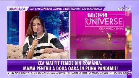 Anca Bucur, cea mai fit femeie din România, mamă pentru a doua oară
