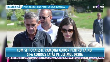 Ramona Gabor scoate mii de euro în memoria tatălui