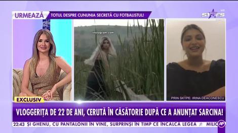 Irina Deaconescu, cerută în căsătorie după ce a anunțat sarcina. Unde va avea loc nunta