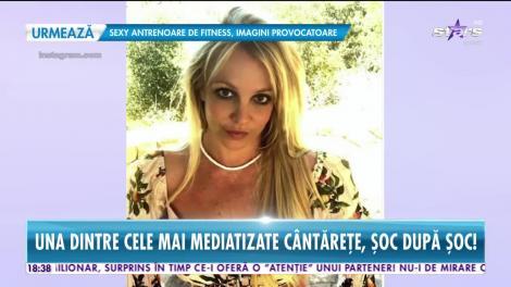 Britney Spears suferă de o boală tulburătoare