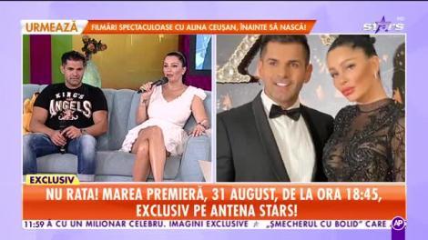 Brigitte şi Florin Pastramă, reality show la Antena Stars. Când are loc premiera emisiunii