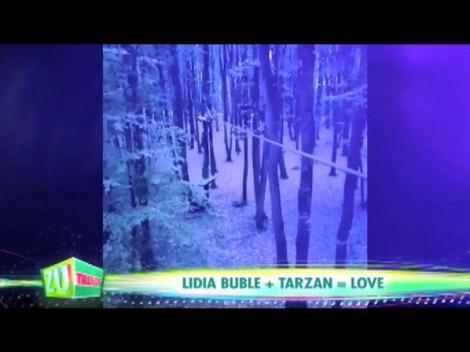 VIDEO! Lidia Buble + Tarzan = LOVE! Artista și-a declarat iubirea pentru... natură!