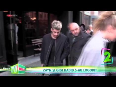 Zayn și Gigi Hadid s-au logodit