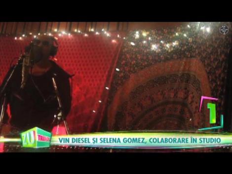 Cel mai tare featuring al anului. Selena Gomez și Vin Diesel cântă împreună! Piesa sună minunat!