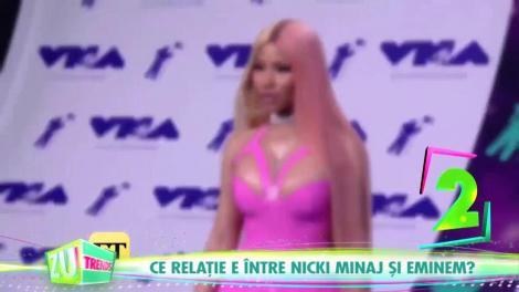 WOW! Cel mai nou cuplu din showbizul mondial: Ambii sunt celebri în toată lumea! Nicki Minaj are o relație cu Eminem